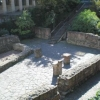 Roman Bath Excavation in Frankfurt